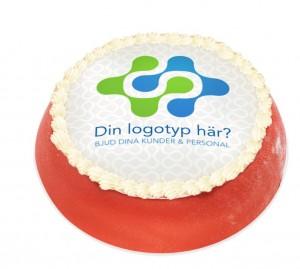 Företagstårta - Logotårta