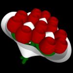 Skicka blommor med blombud